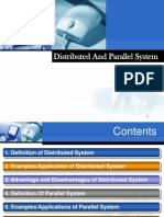 Distributed & Parallel System