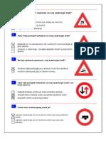 Katalog Testovnih Pitanja Oblast II Znakovi