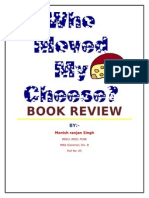 Who Moved My Cheese - Book Review