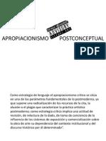 3. apropiacionismo