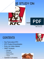 Marketing Strategies of Kfc Chapter    Competing Effectively through Global Marketing  Distribution  and Supply Chain Management