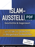 Islamausstellung in Rodgau 2012