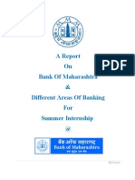 A Report on Bank of MH & Banking
