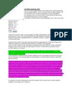 Partnership Committee Speaking Notes