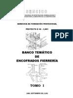 BANCO TEMÁTICO DE ENCOFRADOS FIERRERÍA - TOMO I