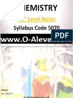 O Level Chemistry Notes