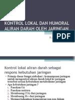 8. Kontrol Lokal Dan Hormonal Aliran Darah Oleh Jaringan