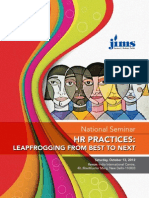 JIMS to organise National Seminar on HR Practice Leapfrogging From Best to Next