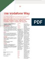 Values of vodafone