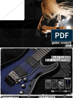 Schecter 2012 International Catalog