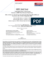 HDFC Gold Fund Sept 12 2011