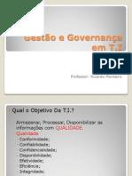 Gestão e Governança em T I aula 1