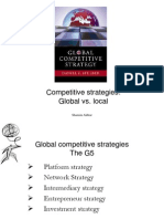 Competitive Strategy By shamim