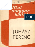 Juhasz Ferenc Bibliografia, 1971 (FSZEK)
