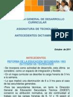 Antecedentes y Dictaminacion Tecnologias
