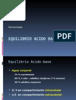 1.- Equilibrio Acido Base