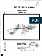 US Department of the Navy - Falkland Island Lesson Learned