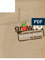 GrowTO - An urban agricultural action plan for Toronto