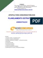Apostila de Planejamento Estratégico para Concursos