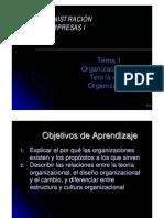 Porq Existen Las Organizaciones y Creacion Del Valor