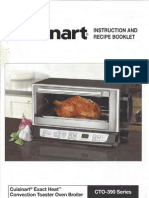 Cuisinart Toaster Oven CTO-390