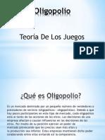 Oligopolio Teoria de Juegos PDF