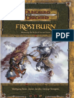 D&D - Frostburn Mastering the Perils of Ice and Snow