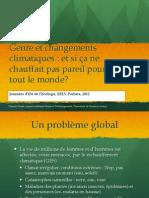 Genre et changements climatiques (Claudy Vouhé)