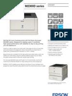 Epson AcuLaser M2300D Brochures 1