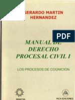 Manual de Derecho Procesal Civil I - Los Procesos de Cognicion