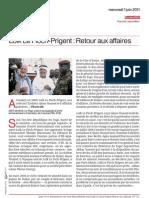 Www.parismatch.com Lo k Le Floch Prigent Retour Aux Affaires