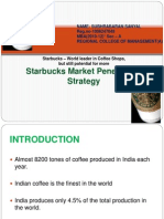(Market Penetration Strategy )Star Bucks