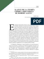 Balance de La Teora Discursiva de Robert Alexy 0