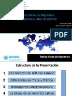 UNODC Trafico Ilicito de Migrantes
