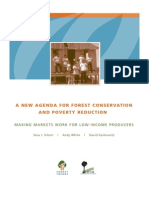 A New Agenda for Forest Conservation and Poverty Reduction