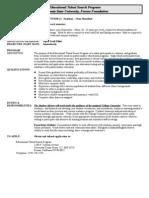 ETS Advisor Position