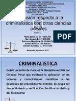 Criminalist y Otras Cs