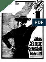 Ludendorff, Mathilde - Was Romherrschaft bedeutet, Ludendorffs Verlag,