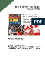 WA Family Pet Expo Exhibitor-And-Sponsor-Prospectus