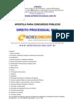Apostila Completa de Direito Processual Civil para Concursos