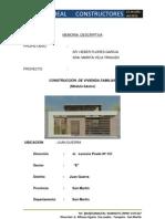 Memoria Descriptiva Final - Heber Alfonso Flores Vela
