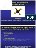Exercise Z Matrix CH4