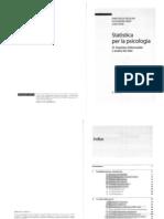 Statistica Per La Psicologia Vol 2 Ercolani,Areni (Il Mulino)