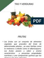 Frutas y Verduras procesos industriales