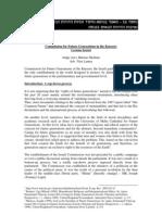 פיתוח בר קיימא 55 - מאמר בנושא מיסוד זכויות הדורות הבאים ביש