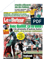 LE BUTEUR PDF du 16//09/2012