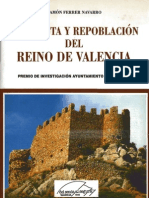 Ferrer Navarro - Conquista y Repoblacion Del Reino de Valencia