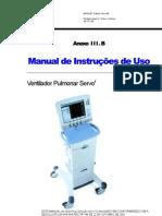 Manual Maquet Servo i