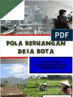 Pola Keruangan Desa Dan Kotahh