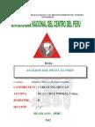 Analisis Del Pbi en El Peru
